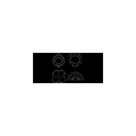 Laser Cut Pattern Design 0808 Free DXF File
