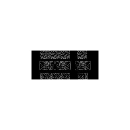 Laser Cut Pattern Design 0811 Free DXF File