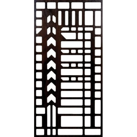 Laser Cut Pattern Unframed Grill 300 v82 Free DXF File
