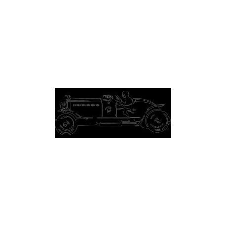 Old Car 0807 Free DXF File