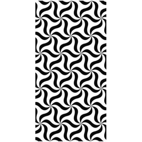 Seamless Monochrome Abstract Triangle Pattern Free DXF File