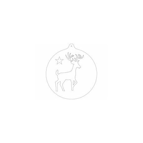 Veado Animal Free DXF File