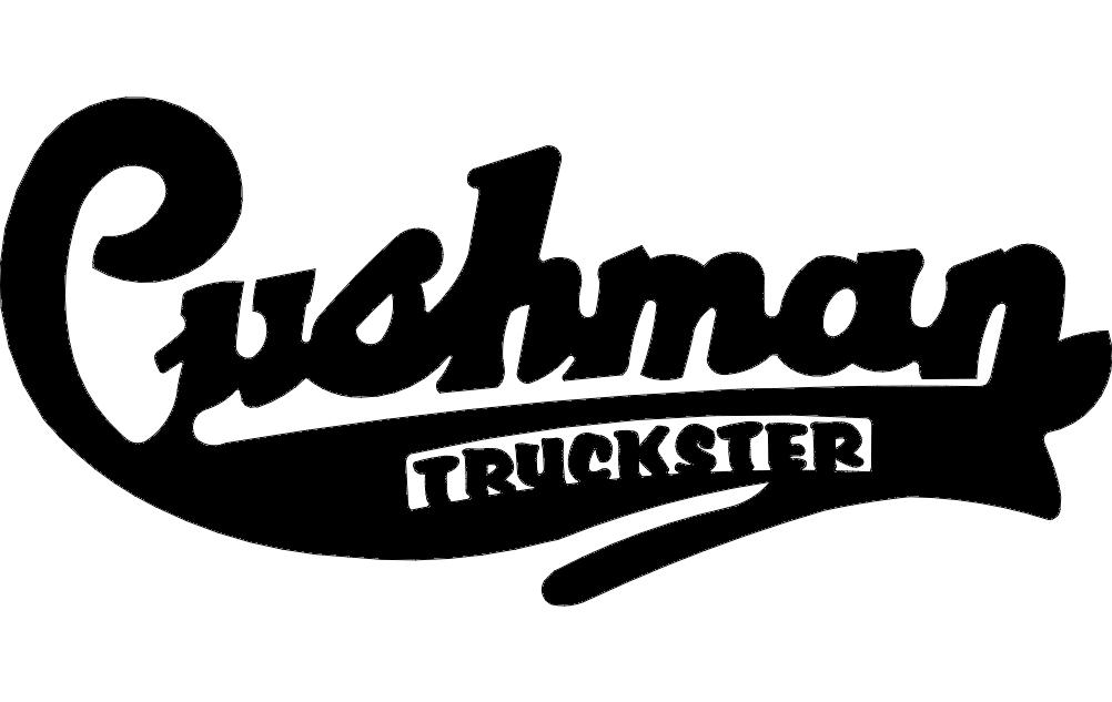Cushman Truckster Logo Free DXF File