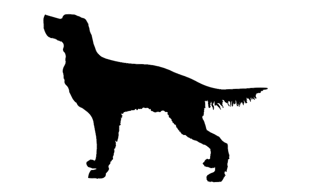 Dog For Hunting Free DXF File