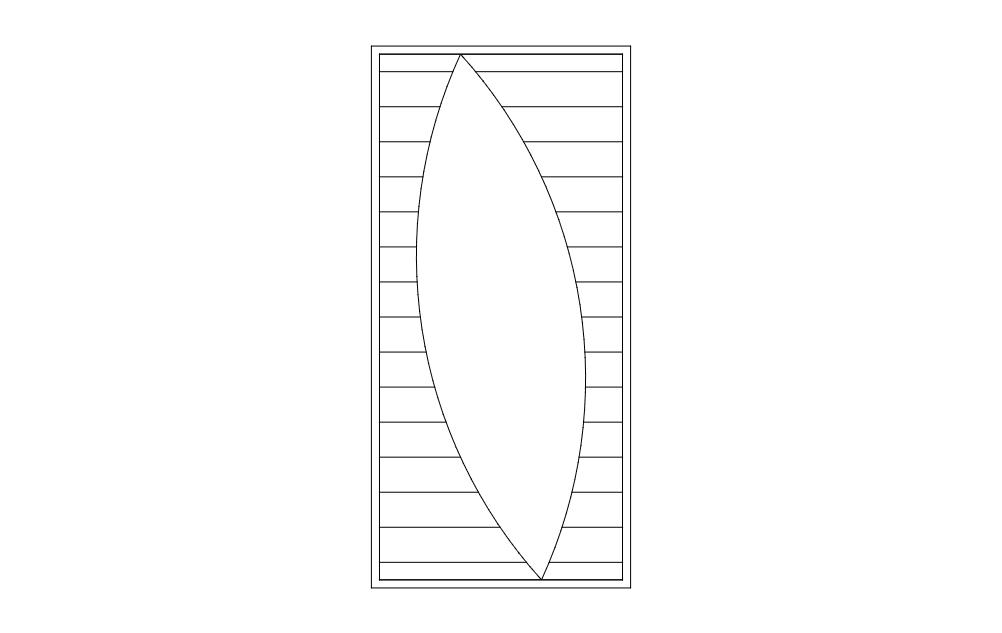 Door Design 477 Free DXF File
