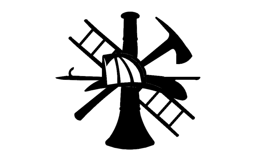 Fire Signs Free DXF File