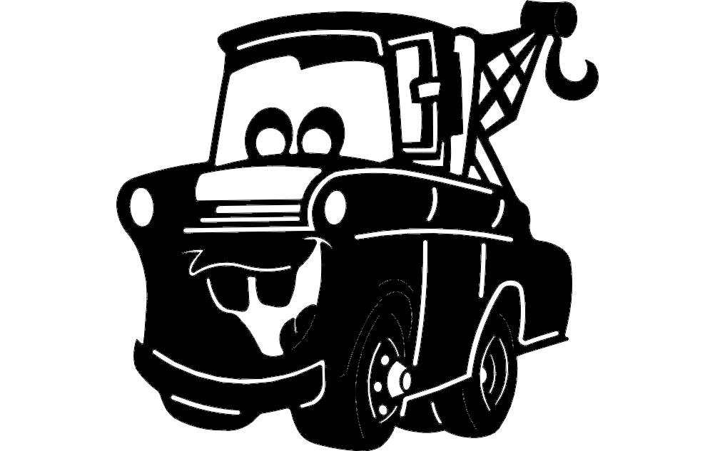 Manard Dump Truck Free DXF File