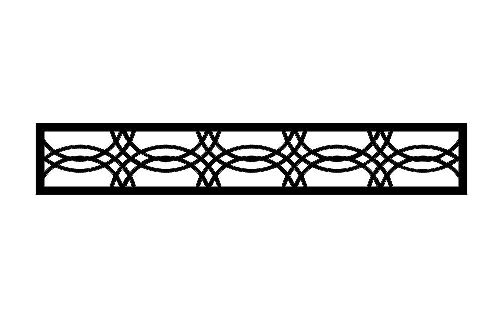 Pattern Design Seperator Rdeneme Free DXF File