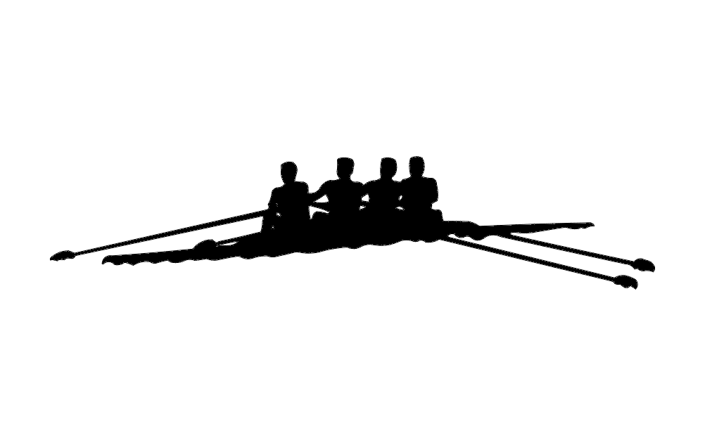 Rowing Team Free DXF File