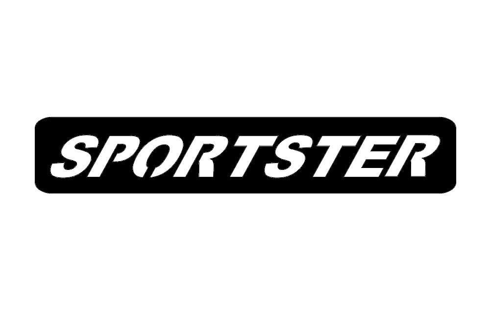 Sportster Logo Free DXF File
