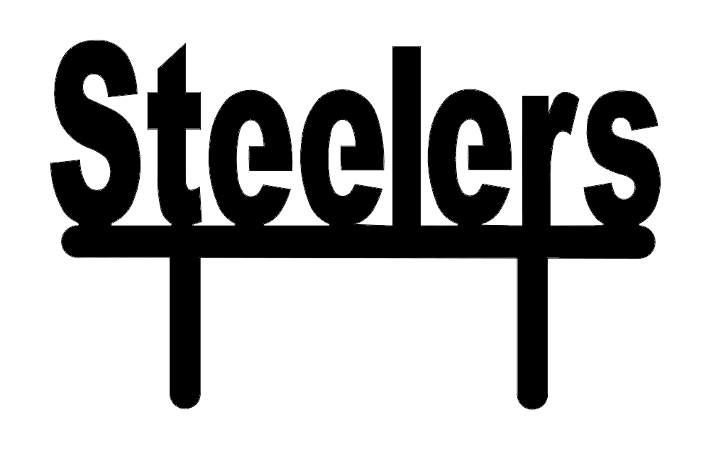 Steelers Stand Topper Free DXF File