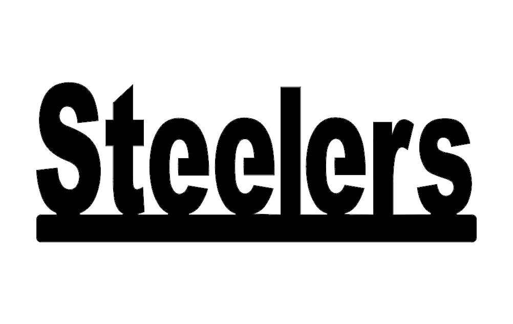 Steelers The Word Free DXF File