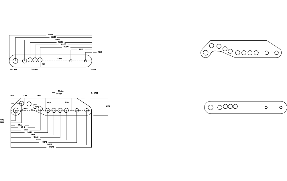 Tube Bender Free DXF File