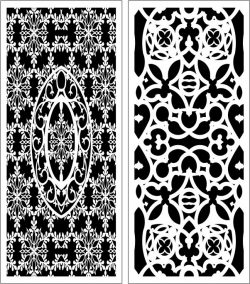 Design Pattern Panel Screen 055 For Laser Cut Cnc Free CDR Vectors Art