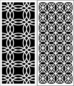 Design Pattern Panel Screen 058 For Laser Cut Cnc Free CDR Vectors Art