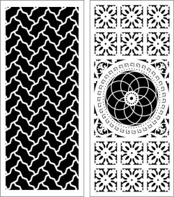 Design Pattern Panel Screen 063 For Laser Cut Cnc Free CDR Vectors Art