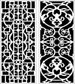 Design Pattern Panel Screen 108 For Laser Cut Cnc Free CDR Vectors Art