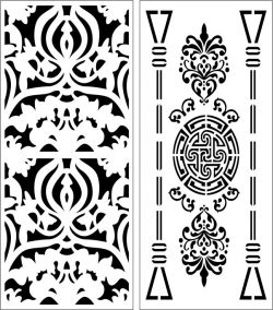 Design Pattern Panel Screen 111 For Laser Cut Cnc Free CDR Vectors Art