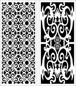 Design Pattern Panel Screen 115 For Laser Cut Cnc Free CDR Vectors Art