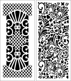 Design Pattern Panel Screen 116 For Laser Cut Cnc Free CDR Vectors Art