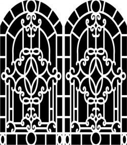 Design Pattern Woodcarving 657 For Laser Cut Cnc Free CDR Vectors Art