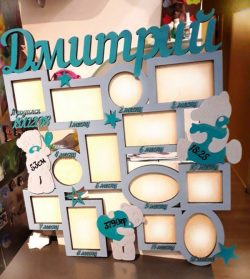 Photo Frame Template For Laser Cut Cnc Free CDR Vectors Art