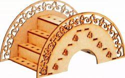 Porta Pirulito For Laser Cut Cnc Free CDR Vectors Art