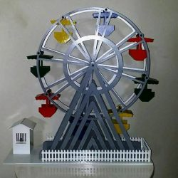 Rotating Display Shelf Made Of Steel For Laser Cut Cnc Free CDR Vectors Art