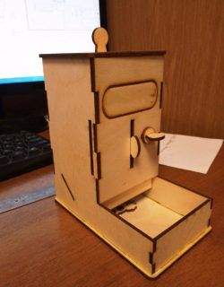 Cat Food Box For Laser Cut Free DXF File