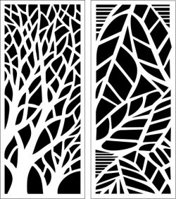 Design Pattern Panel Screen 199 For Laser Cut Cnc Free DXF File
