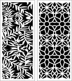 Design Pattern Panel Screen 200 For Laser Cut Cnc Free DXF File