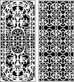 Design Pattern Panel Screen 062 For Laser Cut Cnc Free DXF File