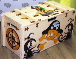 Pirate Box For Laser Cut Cnc Free DXF File