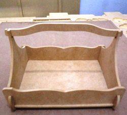Wooden Fruit Basket For Laser Cut Cnc Free DXF File