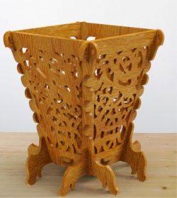 Wooden Vase For Laser Cut Cnc Free DXF File