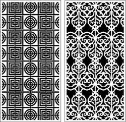 Seamless Texture Baffles For Laser Cut Cnc Free CDR Vectors Art