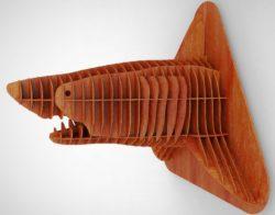 Shark Head For Laser Cut Cnc Free CDR Vectors Art