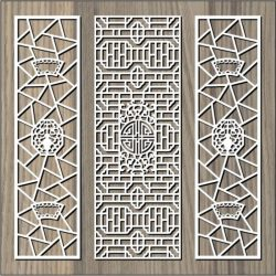 Signboard Pattern For Laser Cut Cnc Free CDR Vectors Art