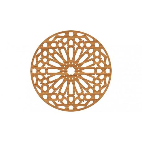 Circular Pattern Cnc File Design Free DXF File