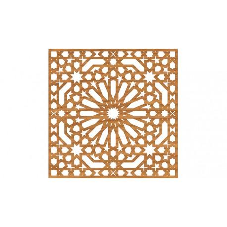 Cnc File Design For Ornamental Pattern Free DXF File