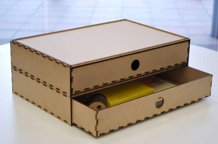 Cnc Laser Cut Box Free DXF File