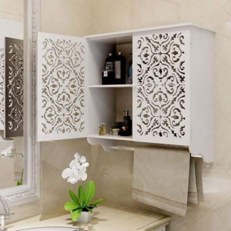 Cnc Laser Cut Wooden Wall Mount Shelves Free DXF File