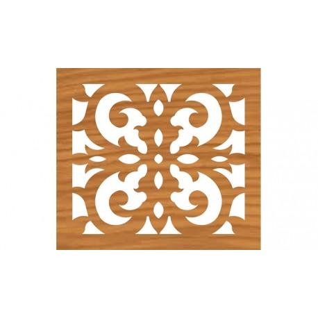 Grille Pattern Cnc File For Laser Cut Design Free DXF File