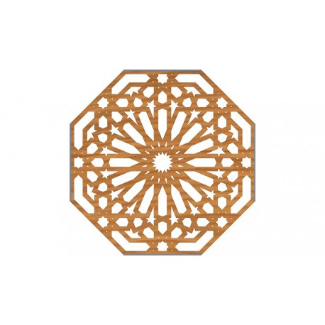 Ornamental Pattern Cnc File Design Free DXF File
