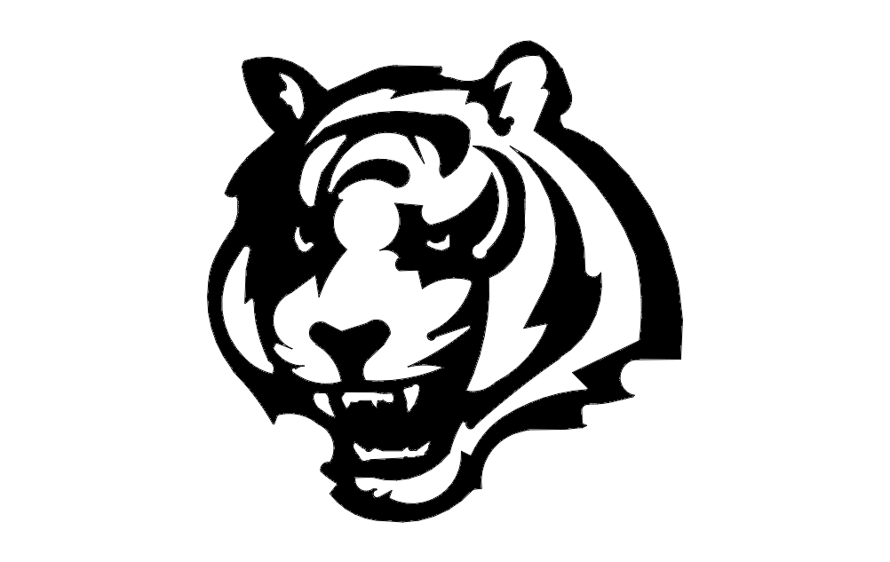 Bengal Face Free DXF File