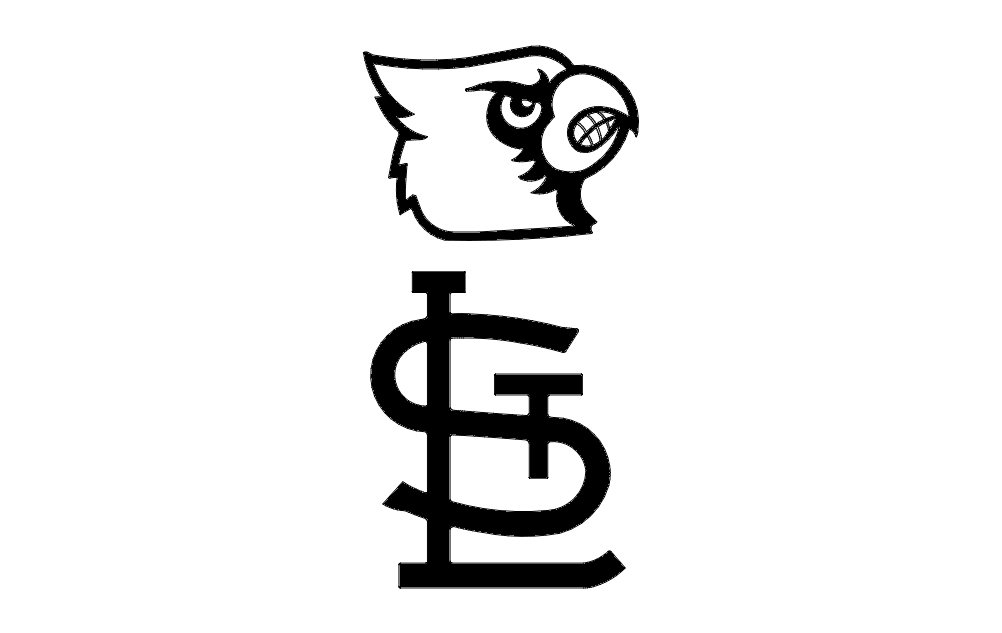 Cardinals Head Free DXF File