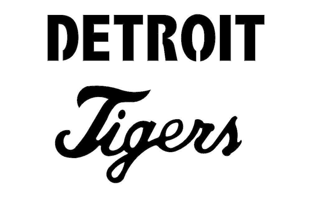 Detroit Tigers Free DXF File