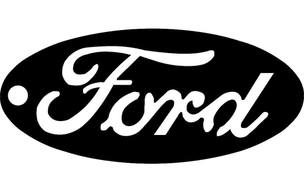 Ford Key Tag Free DXF File