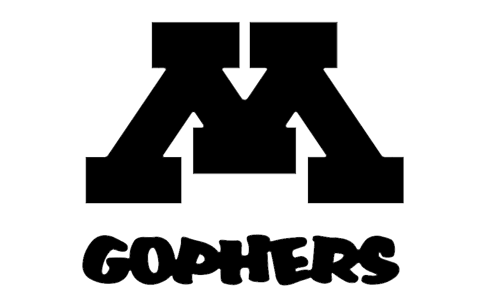 Minnesota Gopher Logo Free DXF File