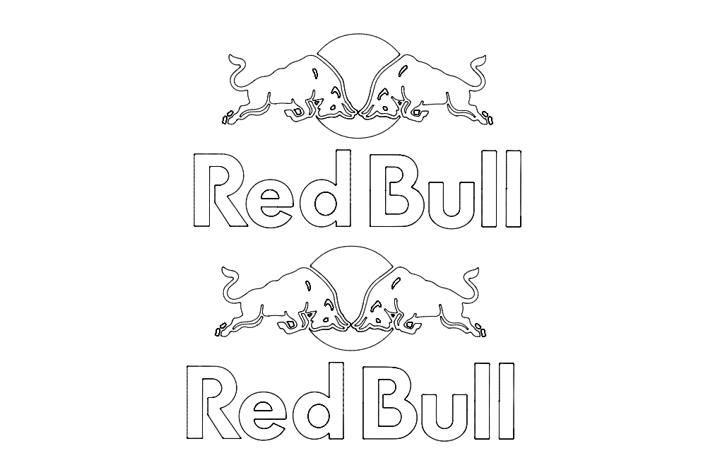 Red Bull Free DXF File